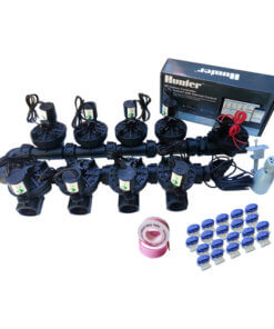 "Hunter Hydrawise 12 Station WiFi Irrigation Combo-Qty9 x 1""Solenoids&Rain Sensor"