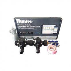 Hunter Hydrawise 6 Station WiFi Irrigation Combo-Qty 2 x 19mm Barb Solenoids&Rain Sensor