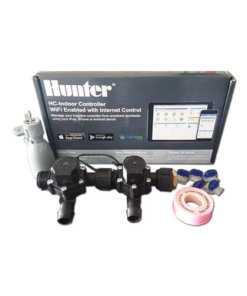 Hunter Hydrawise 6 Station WiFi Irrigation Combo-Qty 2 x 19mm Barb Solenoids&Rain Sensor