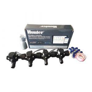 Hunter Hydrawise 6 Station WiFi Irrigation Combo-Qty 4 x 19mm Barb Solenoids&Rain Sensor