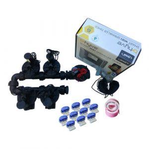 "Orbit B-Hyve 6 Station WiFi Irrigation Combo -Qty 5 x 1"" Solenoids & Rain Sensor"
