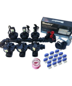 "Hunter Hydrawise 6 Station WiFi Irrigation Combo-Qty 7 x 1""Solenoids&Rain Sensor"