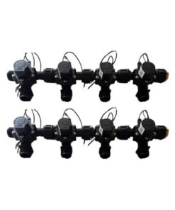 "Irrigation Manifold Assembly (8 x Manifold - 2-way 3/4"" 24VAC 50LPM)"
