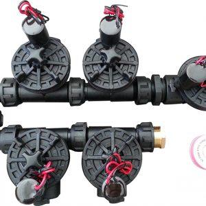Irrigation Manifold Assembly (4 x Manifold Solenoid)