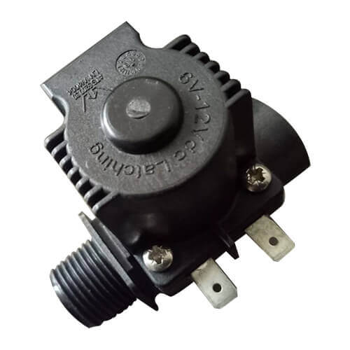 """6V-12V DC Latching Solenoid ATS 5200.30 LN W 4004 Normally Closed - 1/2"""" Version"""