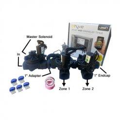 "Orbit B-Hyve 6 Station WiFi Irrigation Combo -Qty 3 x 1"" Solenoids & Rain Sensor"