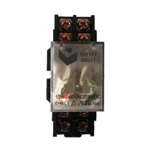 10A 240VAC/24VDC Relay- Run upto 0.75HP Pump&Lights using Irrigation Controller