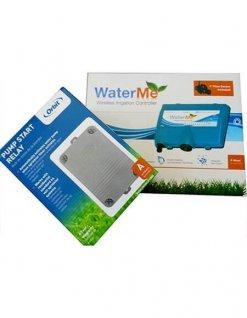 WaterMe- Wireless Irrigation controller & Orbit Pump Start Relay 2HP - 1 phase