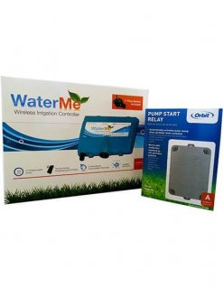 WaterMe- Wireless Irrigation controller & Orbit Pump Start Relay 2HP - 1 phase