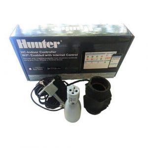 Hunter Hydrawise 6 Station WiFi Irrigation Controller with customised Flow & Rain sensor