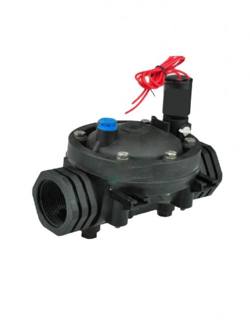 "DN 40 Irrigation Solenoid Valve 24VAC - 1.5"" Female Inlet - 1.5"" Female Outlet - 400LPM"