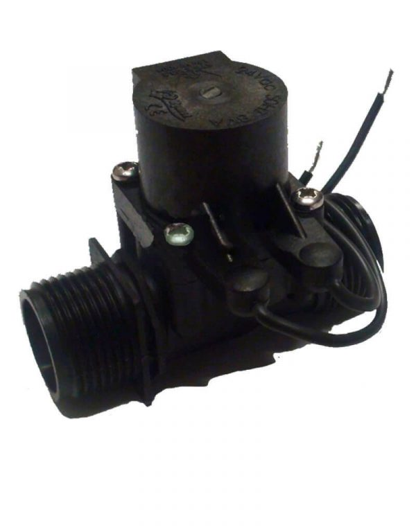 """Micro Irrigation Solenoid Valve 24VAC - 3/4"""" Male Inlet - 3/4"""" Male Outlet - 20LPM"""