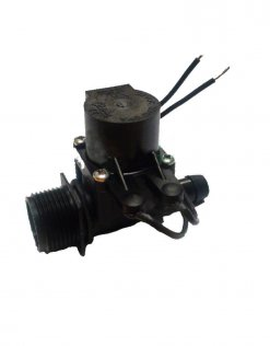 "Micro Irrigation Solenoid Valve 24VAC - 3/4"" Male Inlet - 13mm Straight Barb Outlet - 20LPM"