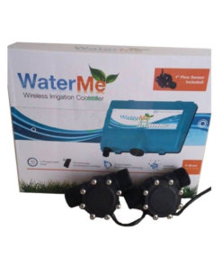 "WaterMe-Wireless Irrigation Controller(1"" Flow Sensor Included) + 2 x 1"" Flow Sensors"