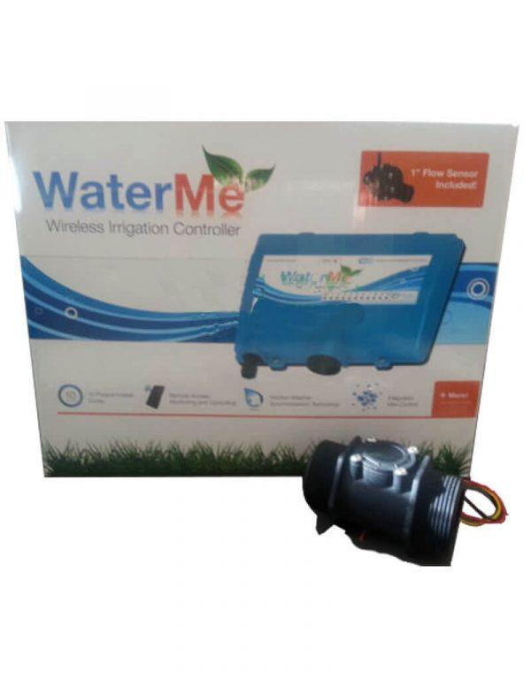 "WaterMe-Wireless Irrigation Controller + Qty 1 x 1.5""(DN40) Flow Sensors"