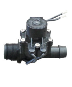 "Irrigation Solenoid Valve 24VAC - 3/4"" Male Inlet - 19mm Barb Outlet - 50 LPM (High Flow)"