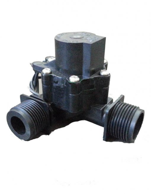 "Manifold Irrigation Solenoid Valve 24VAC - 3/4"" Male Inlet - 3/4"" Male Outlet (2-way) - 50 LPM (High Flow)"