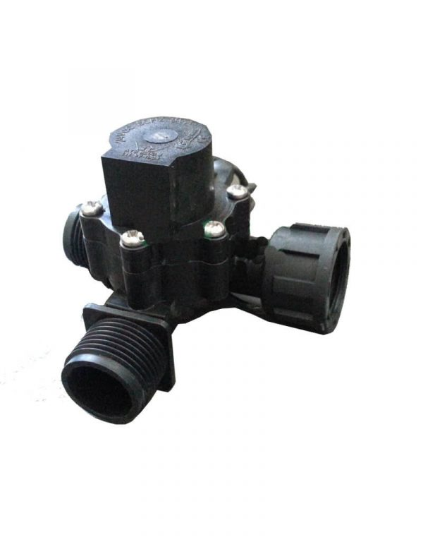 """Manifold Irrigation Solenoid Valve 24VAC - 3/4"""" Male Inlet - 3/4"""" Male Outlet (2-way) - 50 LPM (High Flow)"""
