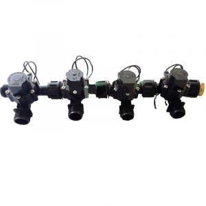 """Irrigation Manifold Assembly (4 x Manifold - 2-way 3/4"""" 24VAC 50LPM)"""
