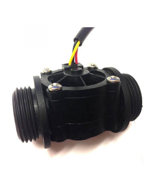 "Flow Sensor 3/4"" 1-60LPM Pulse Output"
