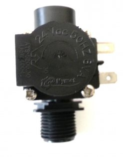 "OEM BONAIRE SOLENOID VALVE 24Vac 1/2"" WITH 6mm Bleed Fitting - TO SUIT PART# 6051636SP"