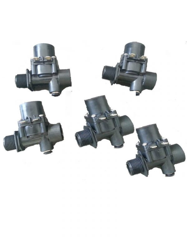 "Qty 5 x OEM BONAIRE SOLENOID VALVE 24Vac 1/2"" WITH 6mm Bleed Fitting - TO SUIT PART# 6051636SP"