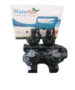WaterMe Irrigation Controller + Irrigation Manifold Assembly (4 x Manifold) - 100LPM