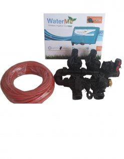 """WaterMe-WiFi Irrigation Controller + 4 Zone Solenoids Combo + Qty1 x1""""Master Solenoid + 7 core Irrigation wire - 20 meter"""