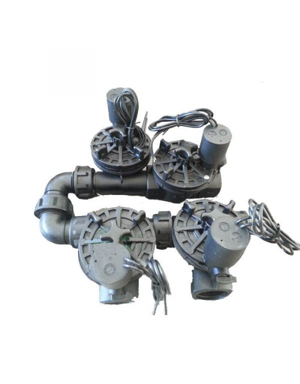 Irrigation Manifold Assembly (3 x Manifold + 1 x Inline Solenoid)