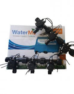 "WaterMe Irrigation Controller + Qty 6 x 3/4"" Irrigation Manifold Assembly x 19mm Barb Outlet( 2-way) - 50LPM"