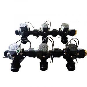 """Irrigation Manifold Assembly (6 x Manifold - 2-way 3/4"""" 24VAC 50LPM)"""