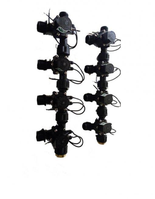 """Irrigation Manifold Assembly (8 x Manifold - 2-way 3/4"""" 24VAC 50LPM)"""