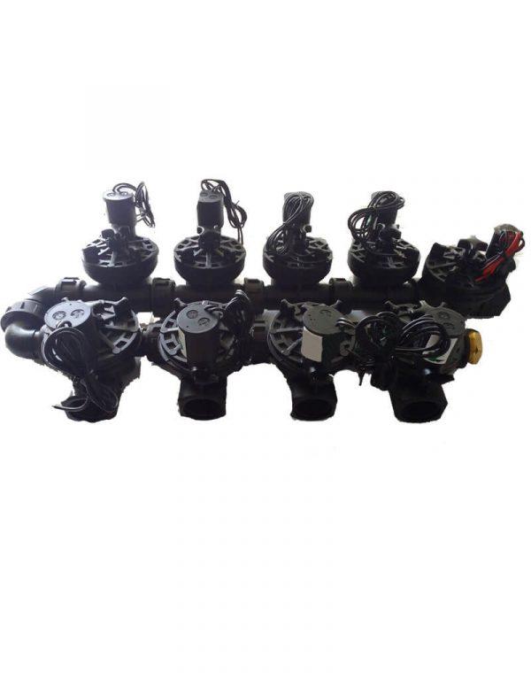 Irrigation Manifold Assembly (8 x Manifold +1 x Inline Solenoid)