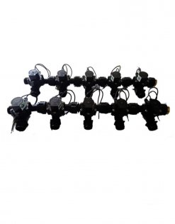 "Irrigation Manifold Assembly (10 x Manifold - 2-way 3/4"" 24VAC 50LPM)"