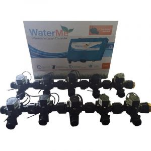 """WaterMe Irrigation Controller + Qty 10 x 3/4"""" Irrigation Manifold Assembly x 3/4"""" BSP Male (2-way)- 50LPM"""