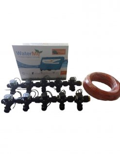 "WaterMe Combo - WiFi Controller & 10 Zone 3/4"" Irrigation Manifold Valves with 13 core Wire"