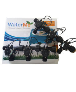 "WaterMe Irrigation Controller + Qty 6 x 3/4"" Irrigation Manifold Assembly x 3/4"" BSP Male (2-way)- 50LPM"