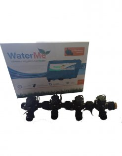 WaterMe Irrigation Controller + Qty 4 x 3/4