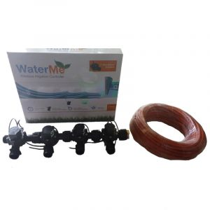 "WaterMe Combo - WiFi Controller & 4 Zone 3/4"" Irrigation Manifold Valves with 5 core Wire"