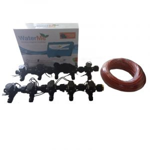 WaterMe Combo - WiFi Controller & 10 Zone 19mm Barb Irrigation Manifold Valves with 13 core Wire
