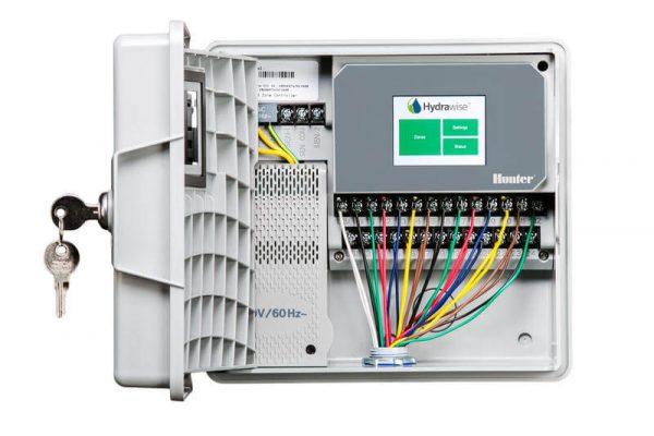 Hunter Hydrawise Pro-HC WiFi Irrigation Outdoor Controller 12 Zone-Free Rain Sensor