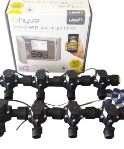 Orbit B-hyve WiFi Controller 12 Station with 8 x Solenoid Combo-Free Rain Sensor