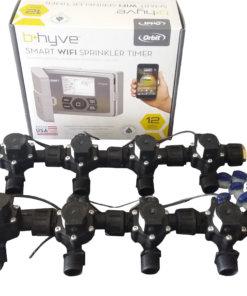 Orbit B-hyve WiFi Controller 12 Station with 8 x Solenoid Combo-Free Rain Sensor