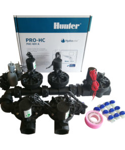 Hunter 6 Station Pro-HC WiFi Irrigation*Outdoor* 5x 25mm Solenoids,Free Rain Sensor