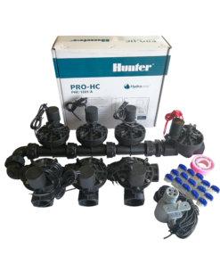Hunter 12 Station Pro-HC WiFi Irrigation*Outdoor*7x 25mm Solenoids,Free Rain Sensor