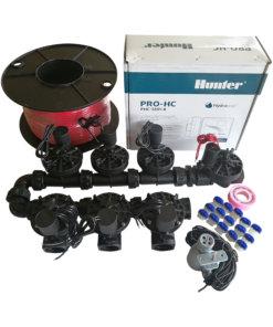 Hunter 12 Station Pro-HC WiFi Irrigation*Outdoor*7x 25mm Solenoids,Rain Sensor,Wire