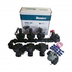Hunter 6 Station Pro-HC WiFi Irrigation*Outdoor* 7x 25mm Solenoids,Free Rain Sensor