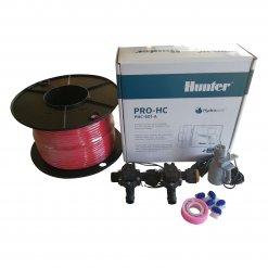 Hunter 6 Station Pro-HC WiFi Irrigation*Outdoor* 2 x 19mm Solenoids,Wire,Sensor