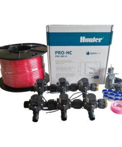 Hunter 6 Station Pro-HC WiFi Irrigation*Outdoor* 6 x 19mm Solenoids,Wire,Sensor