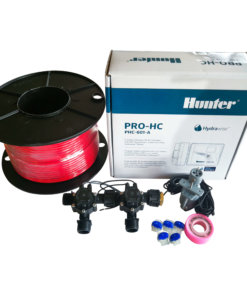 "Hunter 6 Station Pro-HC WiFi Irrigation*Outdoor* 2 x 3/4"" Solenoids,Wire,Sensor"